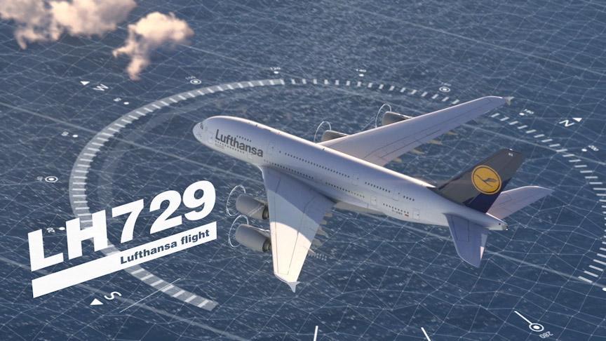 Flugrouten Karte Weltweit Lufthansa.Iocc Die Lufthansa Steuerzentrale Hat Den Himmel Im Griff